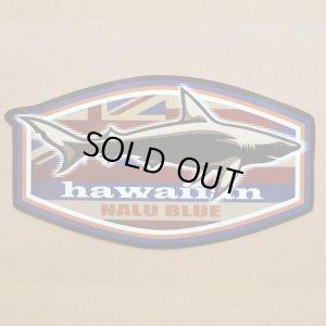 画像1: ハワイアンステッカー/シール ナルブルー(サメ/シャーク) *メール便可