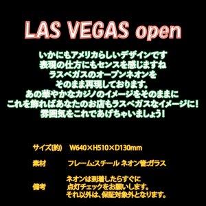 [送料無料] ネオンサイン Las Vegas Open ラスベガス オープン