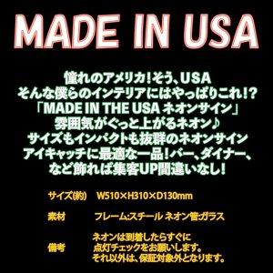 画像2: ネオンサイン 送料無料  カッコいい インテリア MADE IN USA ガレージ インスタ インスタ映え 海外