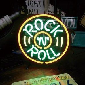 [送料無料] ネオンサイン Rock'n'Roll ロックンロール
