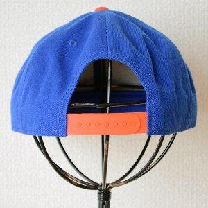 画像4: 帽子/キャップ オットー Otto フラットバイザー ウールブレンド(オレンジ×ロイヤルブルー)