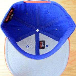 画像5: 帽子/キャップ オットー Otto フラットバイザー ウールブレンド(オレンジ×ロイヤルブルー)