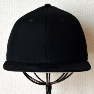画像2: 帽子/キャップ オットー Otto フラットバイザー コットンツイル(ブラック)