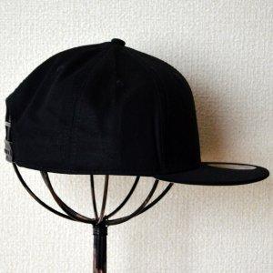 画像3: 帽子/キャップ オットー Otto フラットバイザー コットンツイル(ブラック)