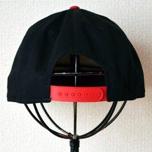 画像4: 帽子/キャップ オットー Otto フラットバイザー コットンツイル(レッド×ブラック)