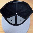 他の写真2: 帽子/キャップ オットー Otto フラットバイザー コットンツイル(グレー×ブラック)