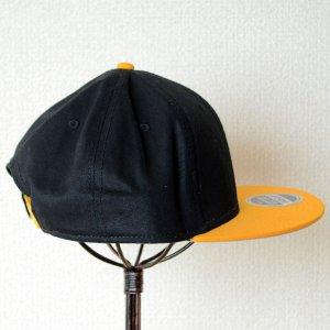 画像3: 帽子/キャップ オットー Otto フラットバイザー コットンツイル(イエローゴールド×ブラック)