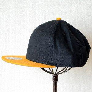 画像5: 帽子/キャップ オットー Otto フラットバイザー コットンツイル(イエローゴールド×ブラック)
