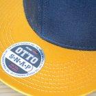 他の写真1: 帽子/キャップ オットー Otto フラットバイザー コットンツイル(イエローゴールド×ブラック)