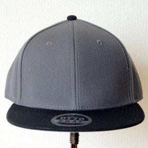 画像2: 帽子/キャップ オットー Otto フラットバイザー ウールブレンド(ブラック×チャコールグレー)
