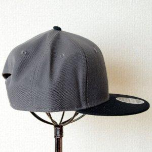 画像3: 帽子/キャップ オットー Otto フラットバイザー ウールブレンド(ブラック×チャコールグレー)