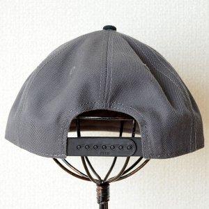 画像4: 帽子/キャップ オットー Otto フラットバイザー ウールブレンド(ブラック×チャコールグレー)