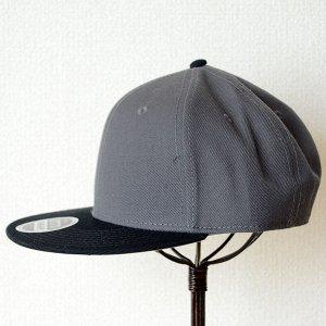 画像5: 帽子/キャップ オットー Otto フラットバイザー ウールブレンド(ブラック×チャコールグレー)