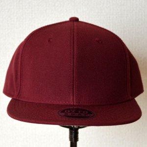 画像2: 帽子/キャップ オットー Otto フラットバイザー ウールブレンド(バーガンディ)
