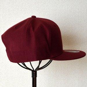 画像3: 帽子/キャップ オットー Otto フラットバイザー ウールブレンド(バーガンディ)