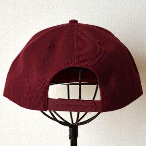 画像4: 帽子/キャップ オットー Otto フラットバイザー ウールブレンド(バーガンディ)