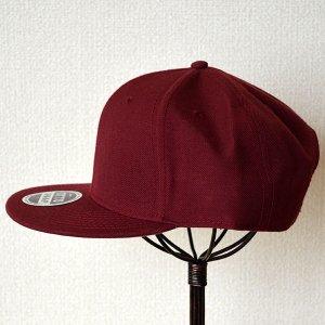 画像5: 帽子/キャップ オットー Otto フラットバイザー ウールブレンド(バーガンディ)