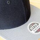 他の写真1: 帽子/キャップ オットー Otto フラットバイザー ウールブレンド(ライトグレー×ブラック)
