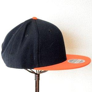 画像3: 帽子/キャップ オットー Otto フラットバイザー ウールブレンド(オレンジ×ブラック)