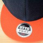 他の写真1: 帽子/キャップ オットー Otto フラットバイザー ウールブレンド(オレンジ×ブラック)