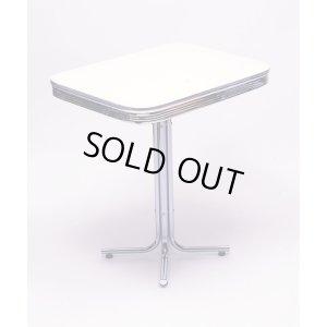 画像1: [送料無料] Sテーブル(アイボリー) 机