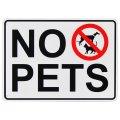 看板/プラサインボード  ペット禁止