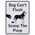 看板/プラサインボード 犬のフンの掃除をすること