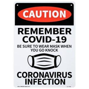 看板/プラサインボード  マスクを着用してください コロナ対策