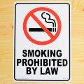 看板/プラサインボード 禁煙 Smoking Prohibited by Law