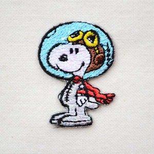 画像1: シールワッペン スヌーピー(アストロノート/宇宙飛行士 2) * メール便可 [S02Y9458]