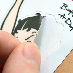 画像3: ステッカー/シール ベティブープ Betty Boop(ネオンハートw/パジー) *メール便可