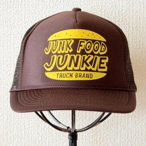 画像2: 帽子/メッシュキャップ トラックブランド Junk(ブラウン)