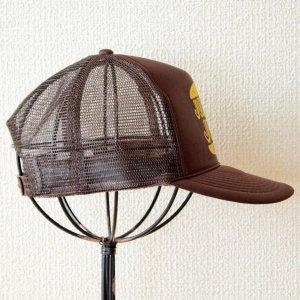 画像3: 帽子/メッシュキャップ トラックブランド Junk(ブラウン)