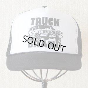 画像2: 帽子/メッシュキャップ トラックブランド Tuff(ブラック&ホワイト)