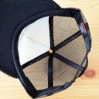 他の写真1: 帽子/メッシュキャップ トラックブランド Pray(ブラック/フラットブリム)