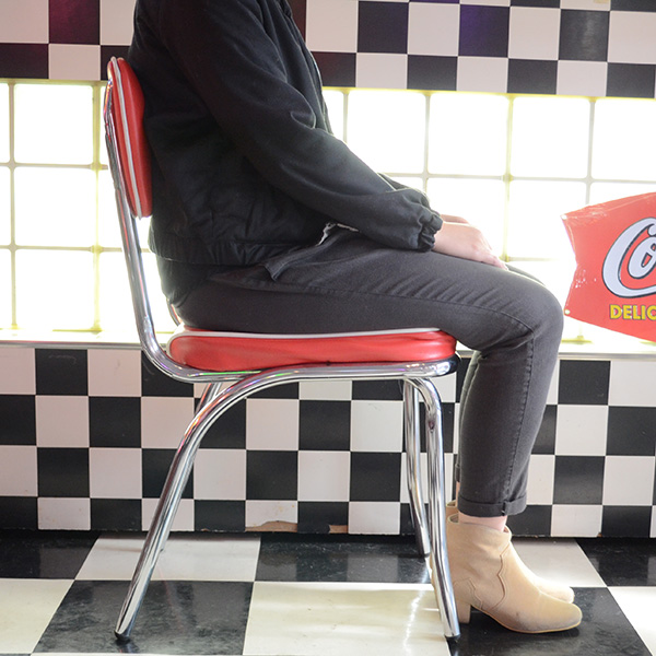 [送料無料] 椅子 Coca-Cola コカコーラ ロゴ入り チェア