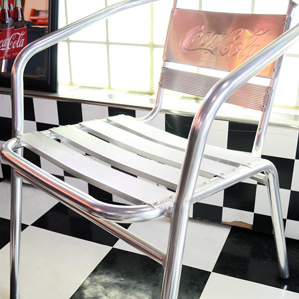 [Coca-Cola] Aluminum Chair / [コカコーラ] アルミニウムチェア 椅子 家具