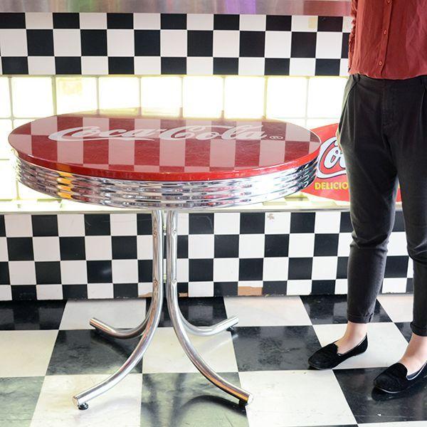[Coca-Cola] Low Table / [コカ・コーラ] ローテーブル 机