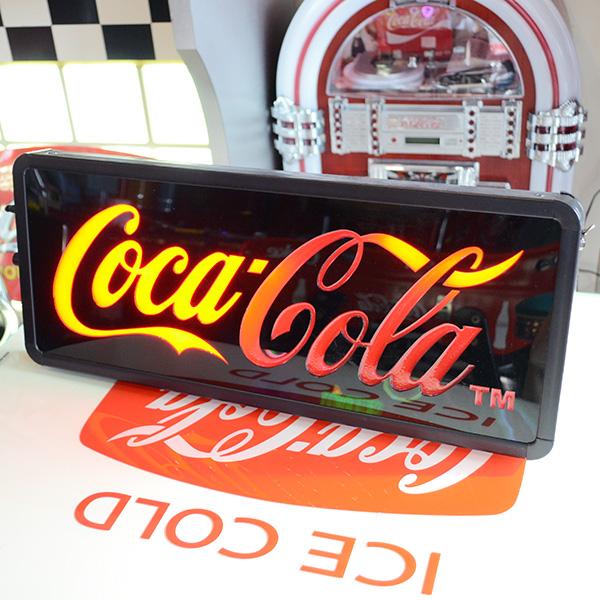 [Coca-Cola] LED Sweep Sign / [コカコーラ] LED スウィープサイン 看板