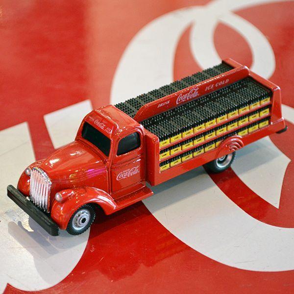 ミニカー コカコーラ 1938年 ボトルトラック(1/87) | アメリカ雑貨 ...