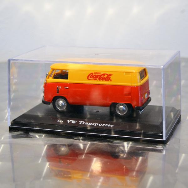 コカコーラ ミニチュアカー 1962年 フォルクスワーゲン パネルバン(1/43スケール) / Coca-Cola Miniature Car - 1962 Volkswagen Panel Van(1/43)