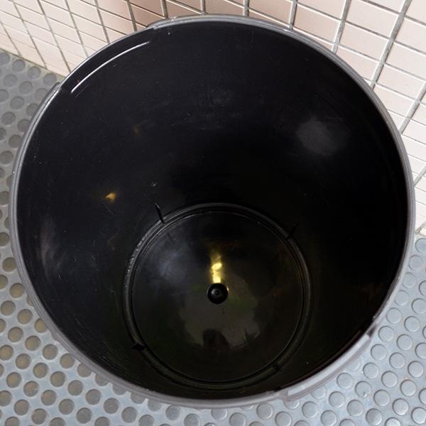 ゴミ箱/アメリカンダストボックス(45L) ミリタリー ルート66 Route66 黒/ブラック