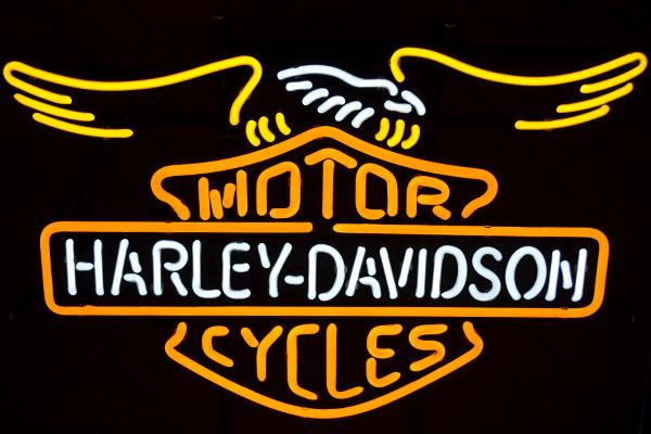 ネオンサイン ハーレーイーグル Harley Eagle