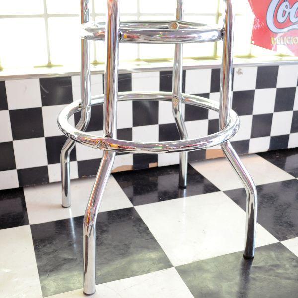 AMERICAN BAR STOOL (BLACK) / アメリカン バースツール (ブラック) 椅子