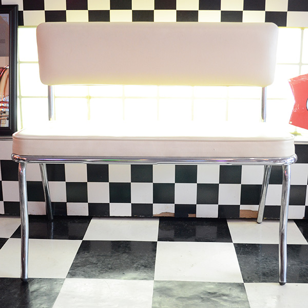 American Bench Seat(Ivory) / アメリカンベンチシート(アイボリー) 長椅子 家具
