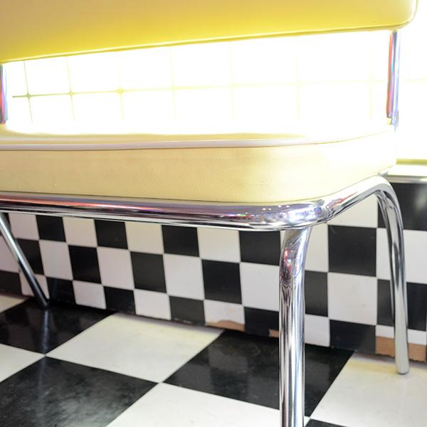 American Bench Seat(Yellow) / アメリカンベンチシート(イエロー) 長椅子 家具
