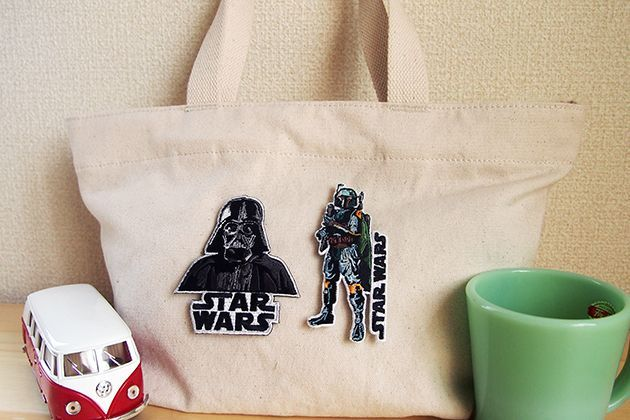 Wappen Star Wars Darth Vader / ワッペン スターウォーズ ダースベイダー