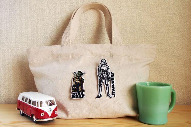 Wappen Star Wars Storm Trooper / ワッペン スターウォーズ ストームトルーパー